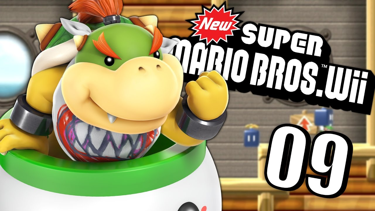 Bowser jr new super mario bros wii