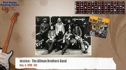 Jessica - The Allman Brothers Guitar Backing Track