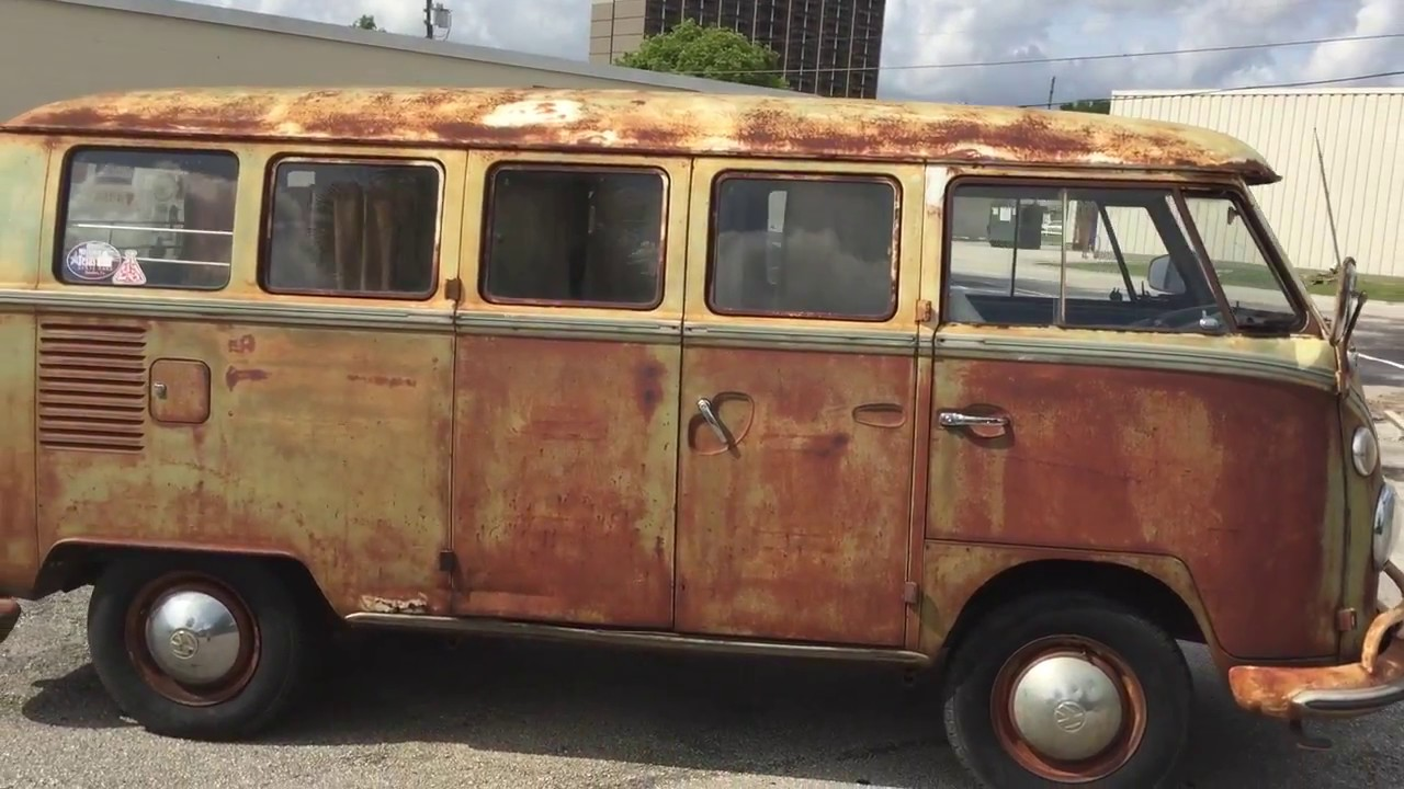 Vw Bus Van Vintage Volkswagen