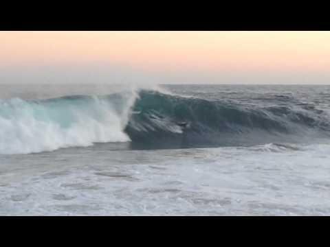 The Wedge INSANE Hurricane Swell (HD) 25+ Foot Waves August, 2014