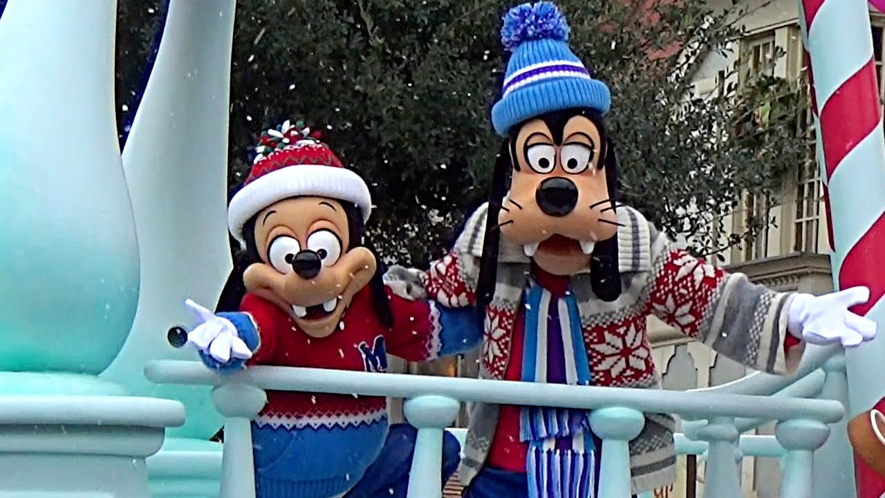 【TDL】ディズニー・クリスマス・ストーリーズ 2015【初日2回目1stグーフィー&マックス親子ポジション】