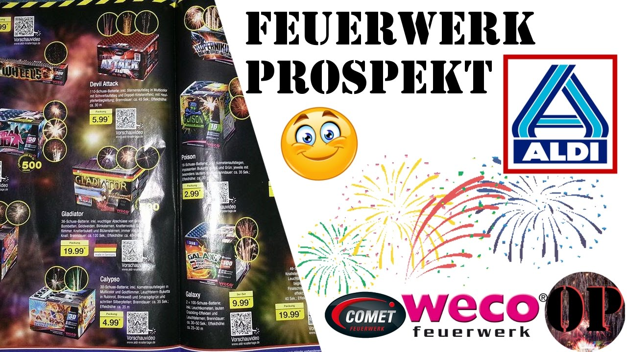 aldi nord feuerwerk prospekt 2016 17 fullhd onepyro youtube. Black Bedroom Furniture Sets. Home Design Ideas