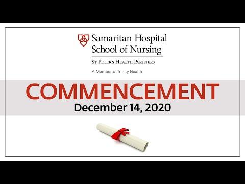 Samaritan Hospital School of Nursing Virtual Graduation 2020