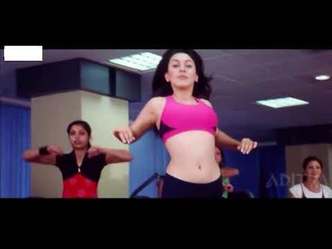 Actress Hansika Gym Workout Video