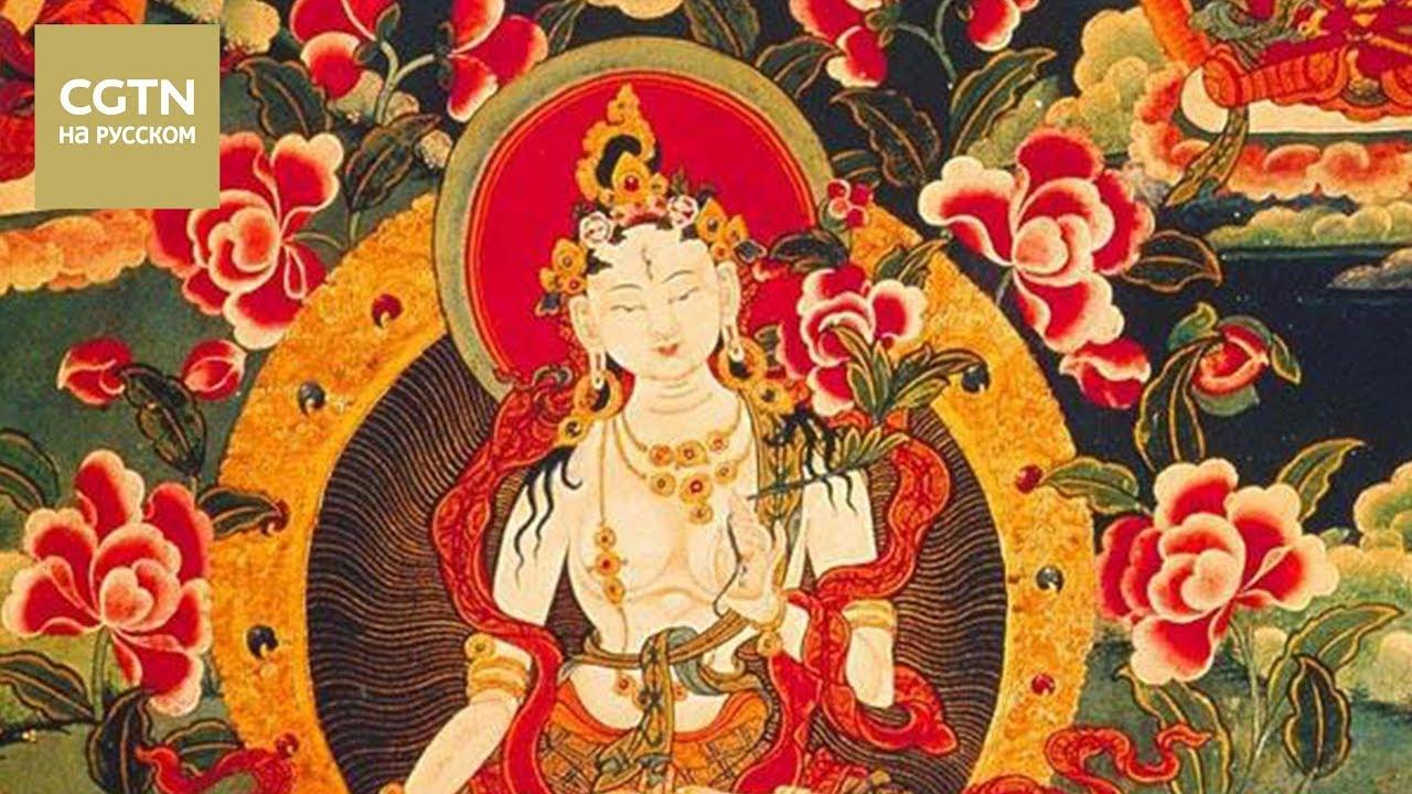Хотите увидеть, как выглядит художественная мастерская в Тибете, где рисуют тханки? [Age0+]