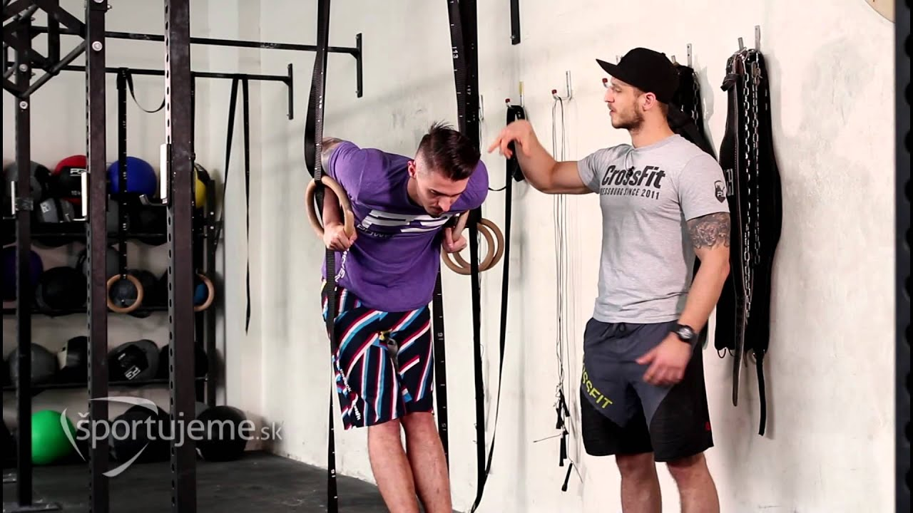 752db0018 Crossfit Ring Dips - Základy pre CrossFit #21 - YouTube