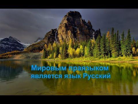 Мировым праязыком является язык Русский. Александр Драгункин.