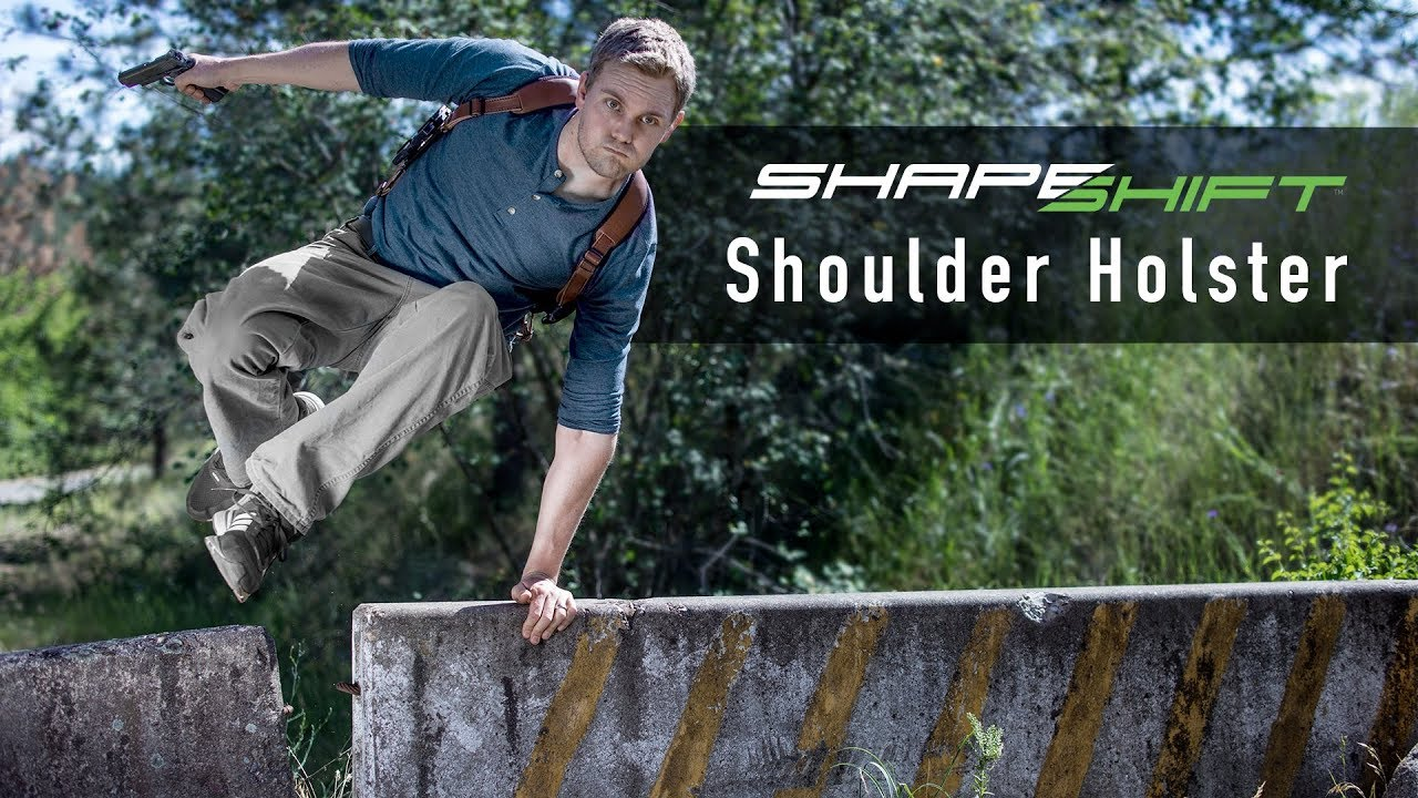 The ShapeShift Shoulder Holster For Concealed Carry - Alien Gear Holsters