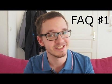 Mes études, ma chaîne et mon opinion sur quelques questions (FAQ#1)
