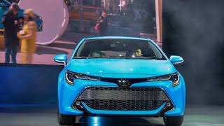 WOW.. 2019 Toyota Corolla Hatchback A Most International Compact Car