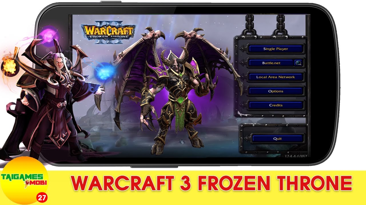 #1 WARCRAFT III THE FROZEN THRONE GAMEPLAY –  TẢI GAME CHIẾN THUẬT WAR 3