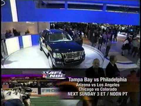 2005 Detroit International Auto Show on NBC