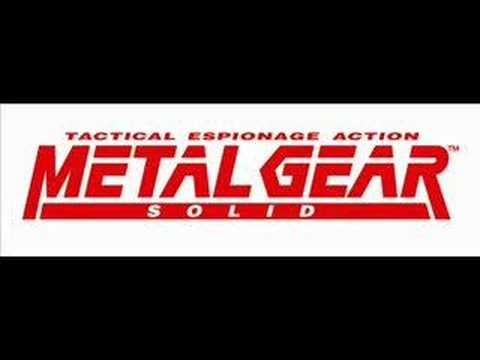 Metal Gear Solid 3 Music - Snake Eater song (In the tunnel)
