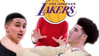 Lakers WARN Lonzo Ball & Kyle Kuzma To STOP Trolling Each Other!
