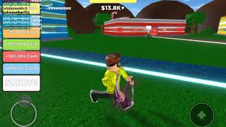Me and Robin play ROBLOX if you want to veins so called me johnmelker11 and Robin called roborobin_777