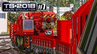 TRAIN SIMULATOR 2018 #7: Zug liegengeblieben! EINSATZ für den KRANZUG | Zug-Simulator