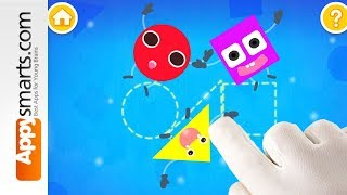 Creative Shapes World by Babybus - game demo for kids (toddlers and up)
