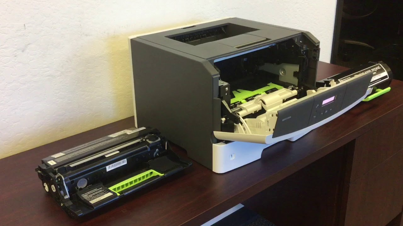 how to clean lexmark imaging unit