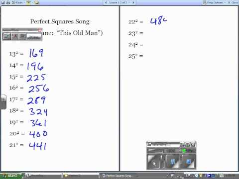 Perfects Squares Song.wmv