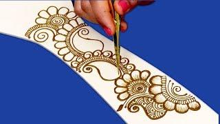 Rakhi Special Mehndi Design for Hands | Floral Mehndi Design For Hands by Sonia Goyal #025