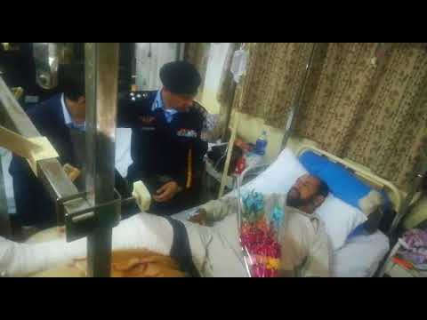 IG Islamabad Police visit Poly Clinic to inquire about cops health