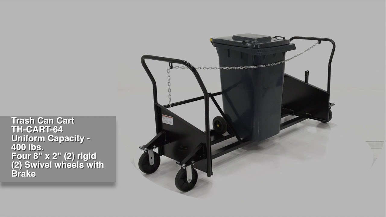 Trash Can Cart With Wheels Replacement