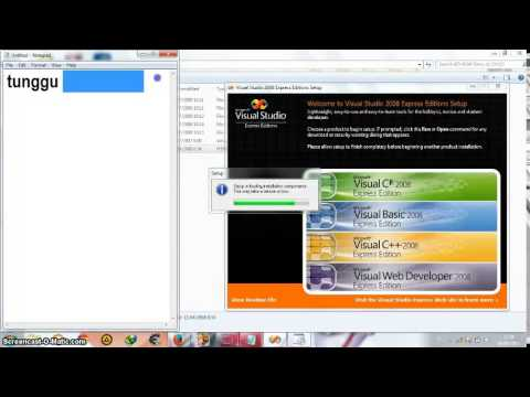 Cara Menginstall Visual Basic