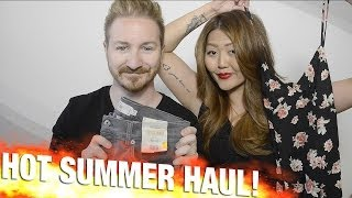 Hot Summer Haul Featuring Forever 21 and Topshop.