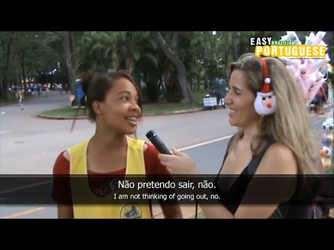Easy Brazilian Portuguese 7 - Christmas in São Paulo