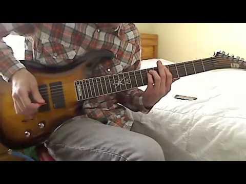 Deftones - Rocket Skates (guitar cover)