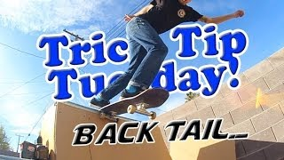 How To: Backside Tail in Transition (Miniramp)