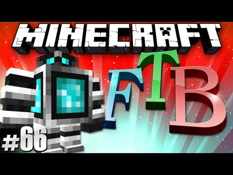 Minecraft Feed The Beast #66 - Mini Golems & Assembly Tables!