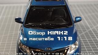 Обзор модели KIA K 2 1:18
