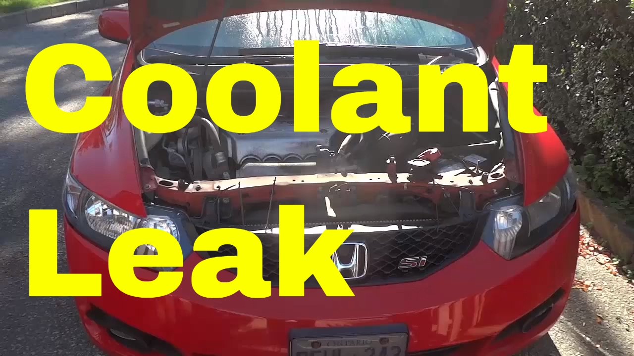 Coolant Leak Dont Forget To Check Your Radiator Cap Youtube Old Engine In Cars