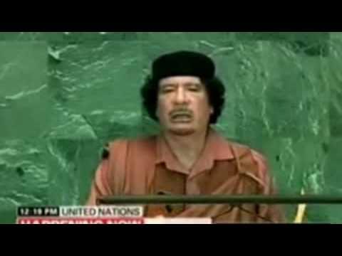 Gaddafi Demands New Investigation of Zionist Conspiracy to kill JFK