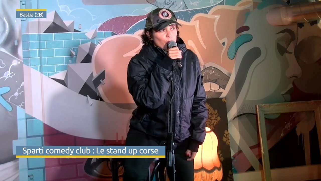Le Sparti comedy club : Le stand up corse