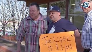 Raw: Former Tejano Star Joe Lopez Released From Prison