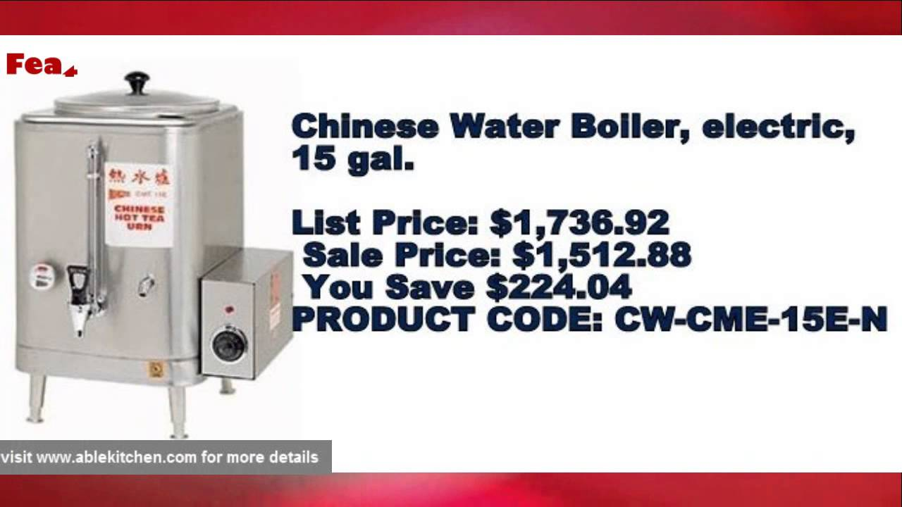 Portable Hot Water Boiler -Most Popular Commercial and Restaurant ...