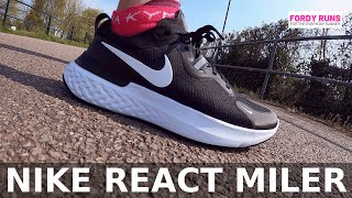Nike React Miler Review