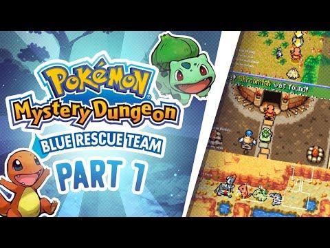 Pokemon Mystery Dungeon Blue Rescue Team Playthrough Part 1