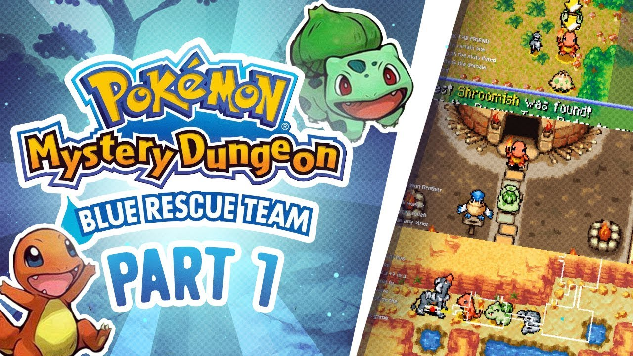 'Pokmon Mystery Dungeon: Red Rescue Team & Blue Rescue ...