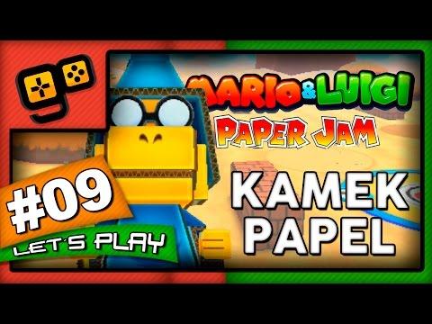 Mario & Luigi Paper Jam - Parte 9 - Kamek Papel