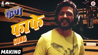 FaFe Song - Making | Faster Fene | Riteish Deshmukh | Arko