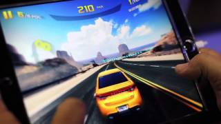 Asphalt 8: Airborne for iOS gameplay - E3 2013
