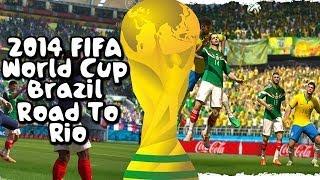 2014 FIFA World Cup Road to Rio #3 BRAZIL SAMBA & COLOMBIA!