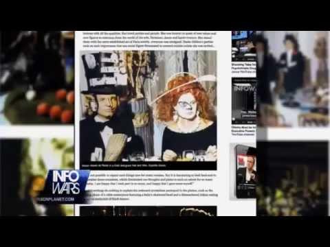 ILLUMINATI RITUAL & OCCULT WORSHIP on Display at ROTHSCHILD Masquerade
