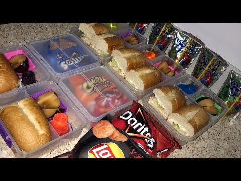 Kids Back To School Lunch // Easy Sandwiches 2020 // Giveaway Winner