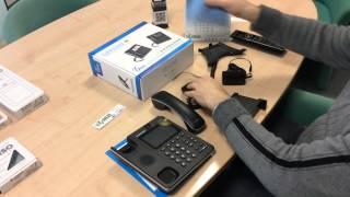 Unpacking videotelefono IP Grandstream