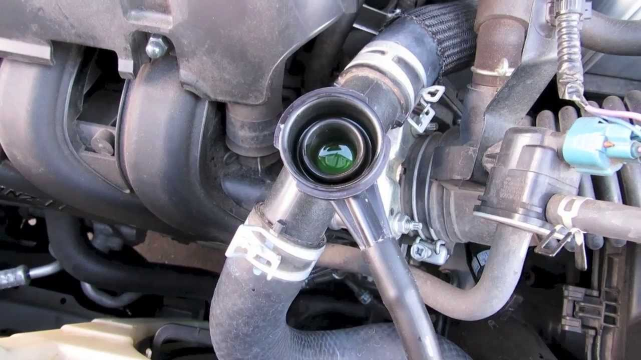 Watch on toyota thermostat location