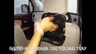 GB200-Gizmobaba Folding Car Multifunctional Tray - Drink Holder Gadget.